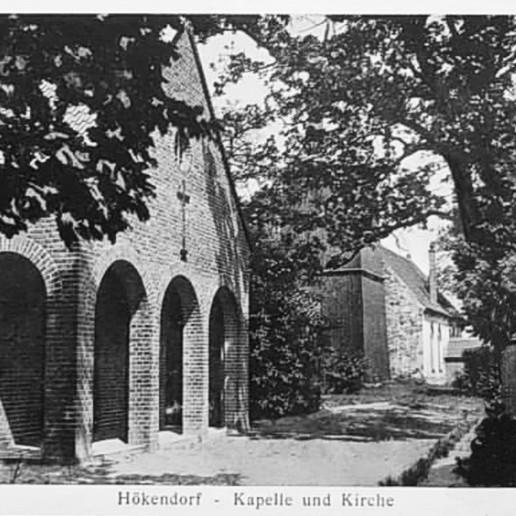 Kościół pw Św. Męczennika Stanisłąwa, widok od strony plebani