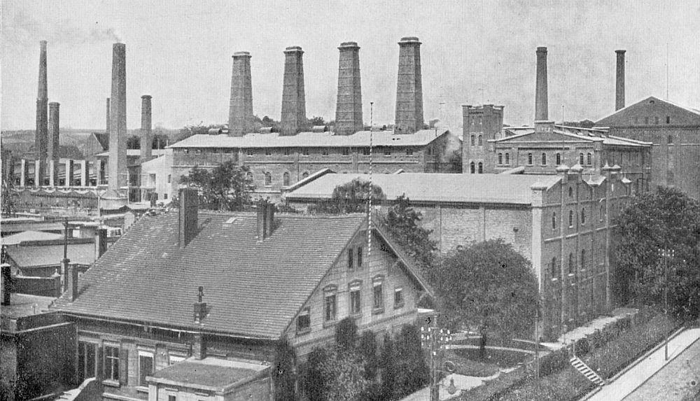 Fabryka Cementu Portlandzkiego Stern, Portland Zementfabrik Finkenwalde