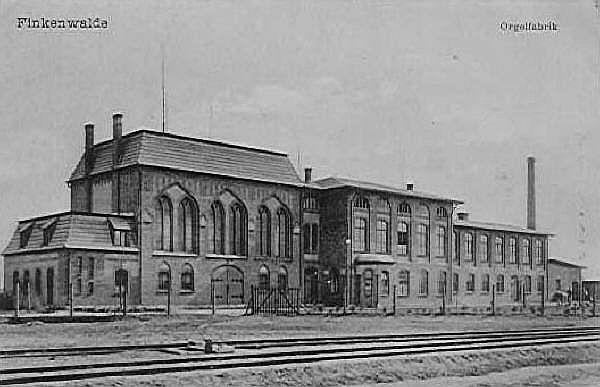 Widok na fabryke organów w Zdrojach, Batalionów Chłopskich