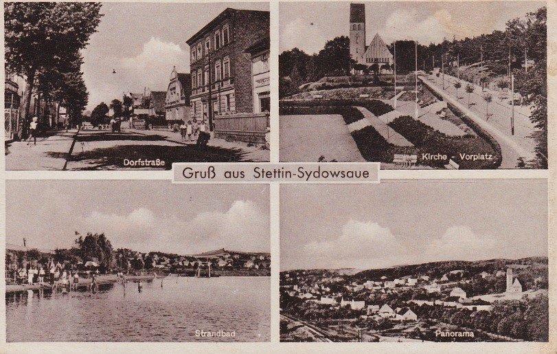 Stara widokówka, Sydowsaue