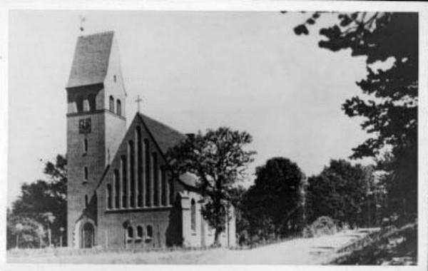 Kościół w Sydowsaue, dzisiejsza ulica Inżynierska