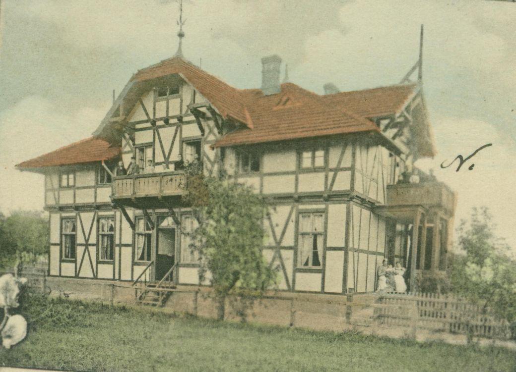 Villa Carli, Friedensburg
