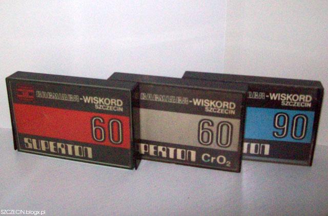 Kasety magnetofonowe z Zakładu Wiskord
