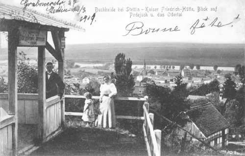 Punkt widokowy w Podjuchach, Kaiser Friedrich Hutte